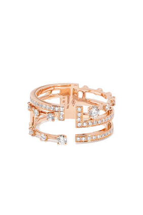 Avenues Rose Gold & Diamond Ring