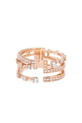 Avenues Rose Gold & Diamond Ring