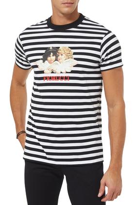 Stripes Angel T-Shirt