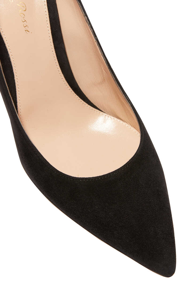 Suede Point Toe Pump image number 4