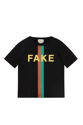 Graphic Stripe Print T-Shirt