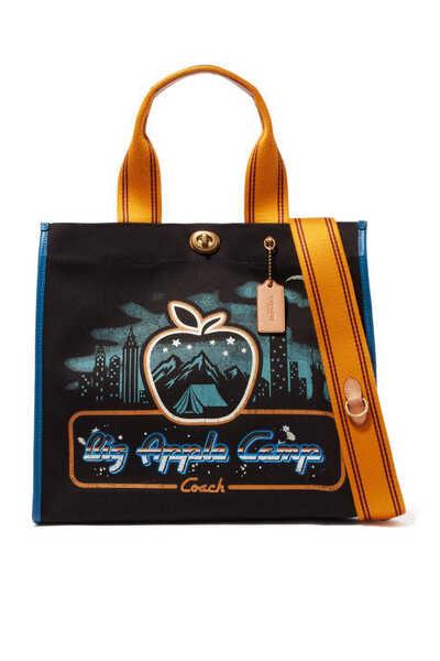 Skyline 34 Big Apple Camp Canvas Tote Bag