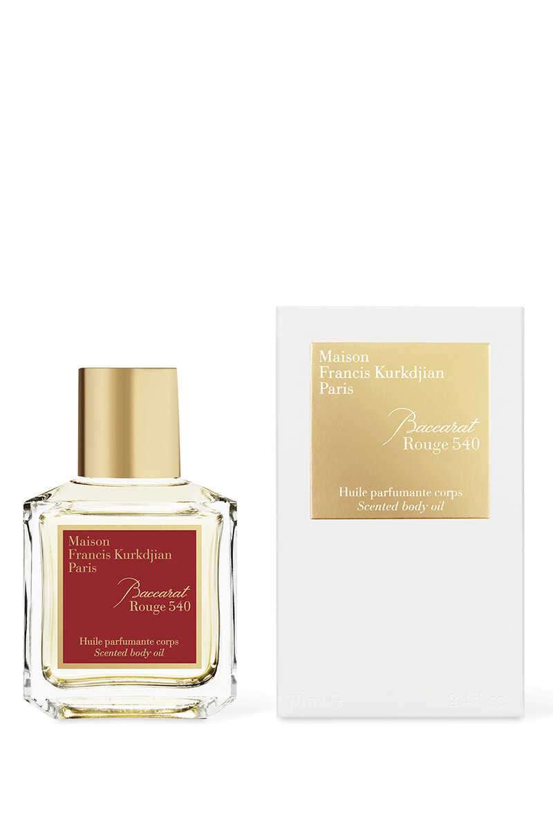 Baccarat Rouge 540 Scented Body Oil image number 1