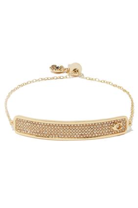 Pavé Bar Slider Bracelet