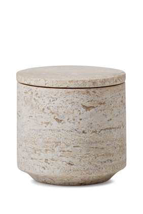 Aztec Marble Canister