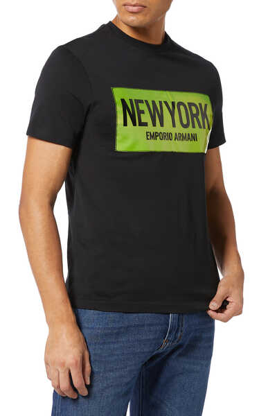 Neon City Logo Patch T-Shirt