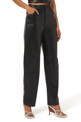 Radha Vegan Leather Pants