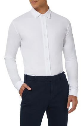Stretch Cotton Shirt