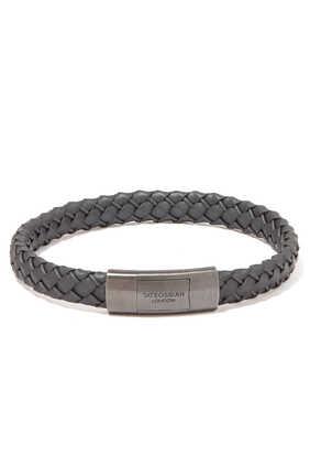Gomma Intrecciato Rubber Bracelet