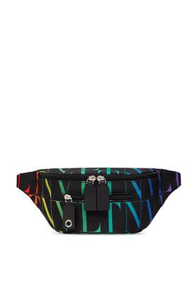 Valentino Garavani VLTN Nylon Belt Bag