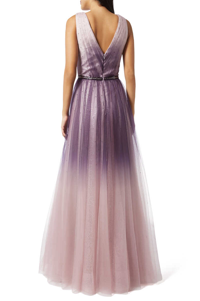 Ombre Sleeveless Gown image thumbnail number 3