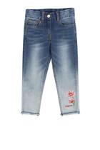 Flower Denim Jeans