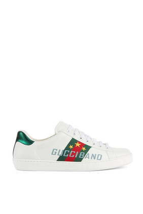 Ace Gucci Band Sneakers