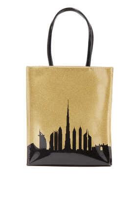 DXB Skyline Little Tote Bag