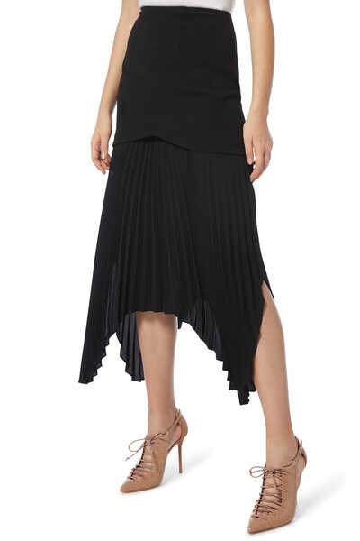 Take Seriously Pleated Skirt