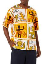 Powder All-over Keith Haring  Shirt