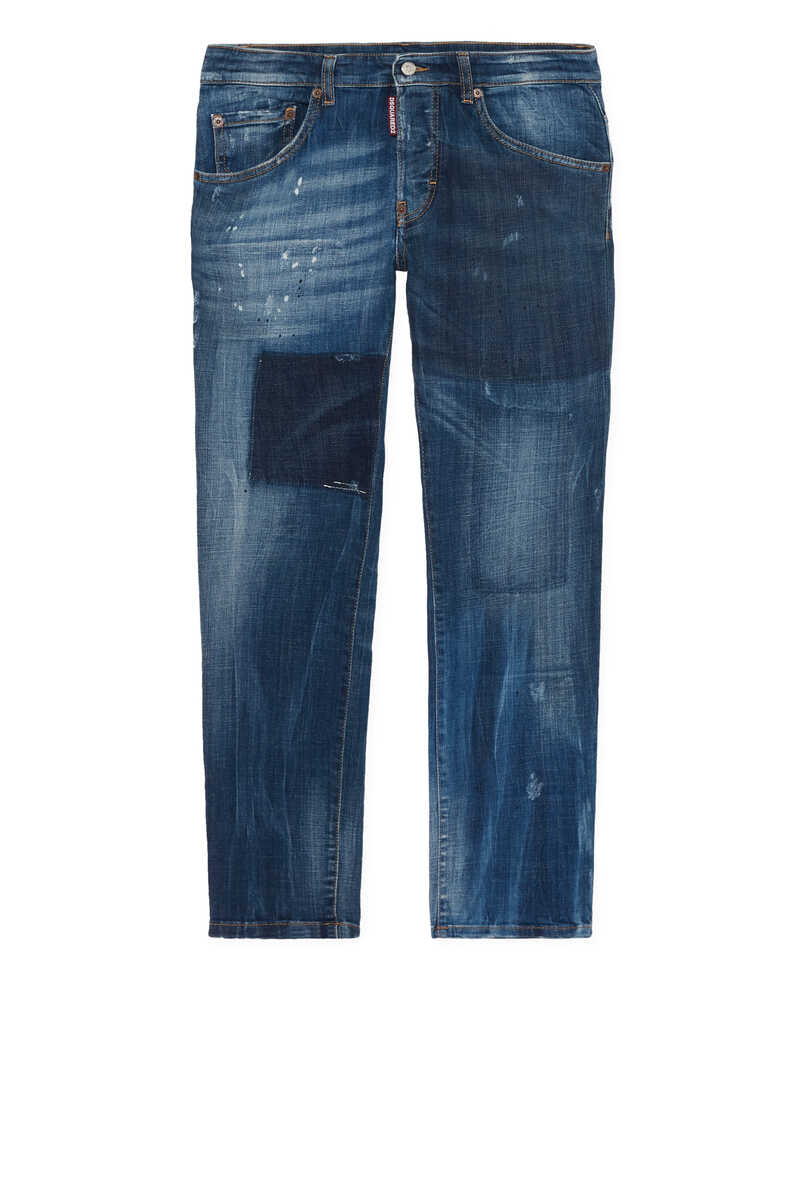 Distressed Regular Fit Jeans image number 1