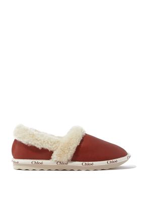 Woody Closed Shoe in Vegetal Calfskin