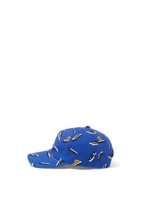Teddy and Logo Baseball Hat