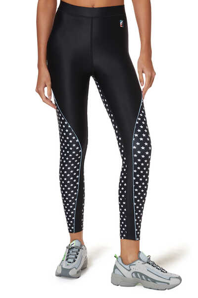 Dominion Star Print Leggings