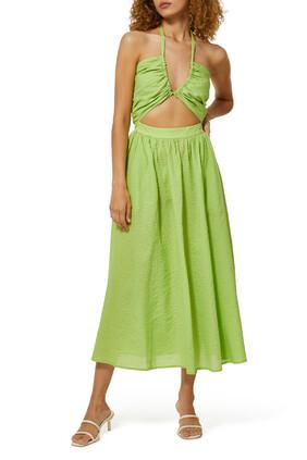 Limone Cotton Dress