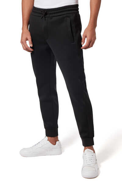 Text Logo Band Jogger Pants