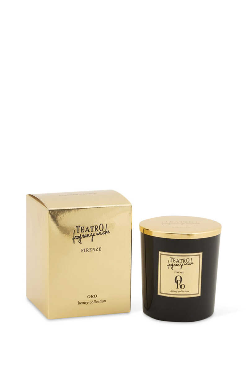 Oro Luxury Scented Candle image number 1