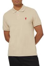 Ami de Coeur Cotton Polo T-Shirt