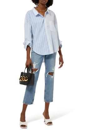 Taper Denim Jeans