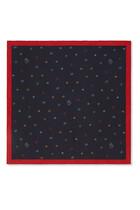 Symbols Silk Pocket Square