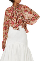Cathedral Floral Blouse