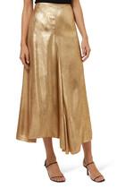 Llewyn Metallic Skirt