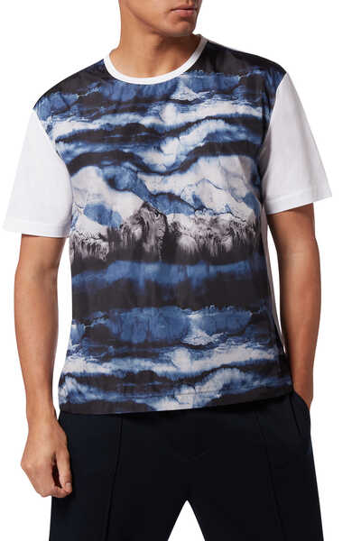 Cloud Print T-Shirt
