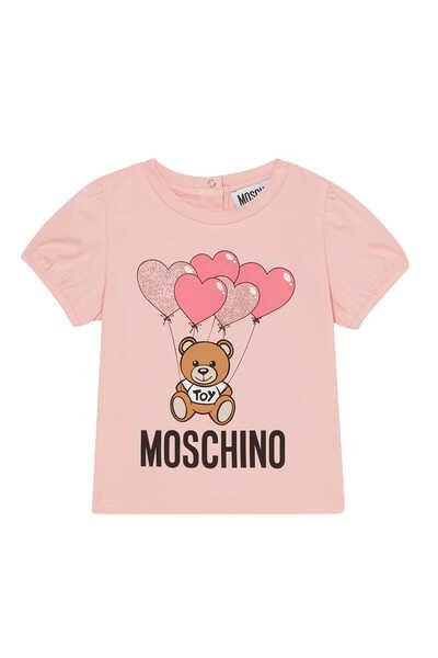 Teddy Bear Balloon Logo T-Shirt
