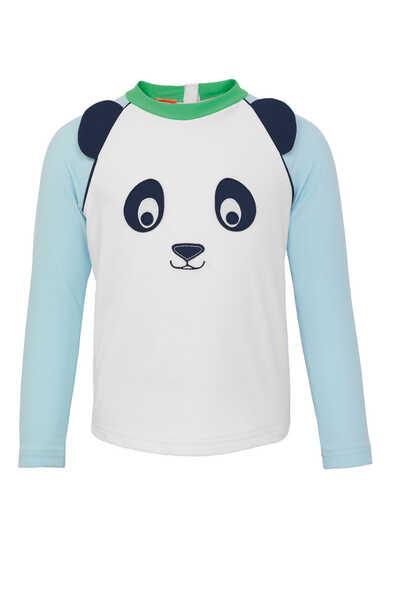 Panda Long-Sleeved Rash Vest