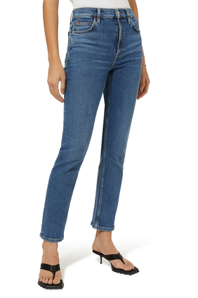 70's Straight Cut Jeans