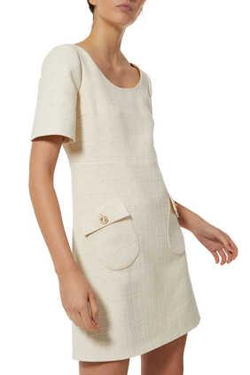 Short Tweed Dress