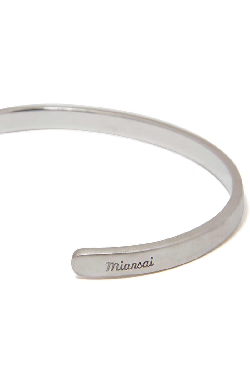 Single Cuff Silver Bracelet image number 4