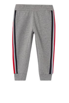 Stripe Trim Jogging Pants