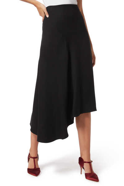 Asymmetric Seam Skirt