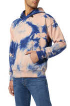 Tie Dye Hooded Sweatshirt