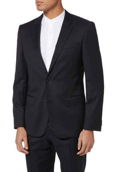 Slim-Fit Wool Jacket