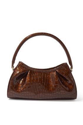 Dimple Croc Shoulder Bag