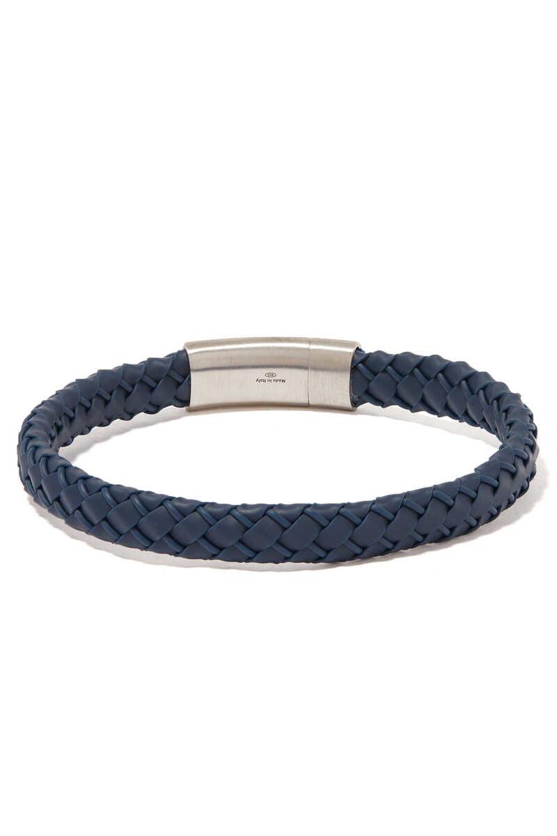 Gomma Intrecciato Rubber Bracelet image number 3