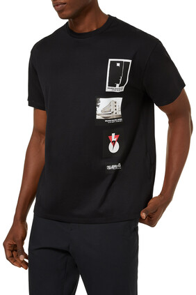 Centenary Bauhaus Patches T-shirt