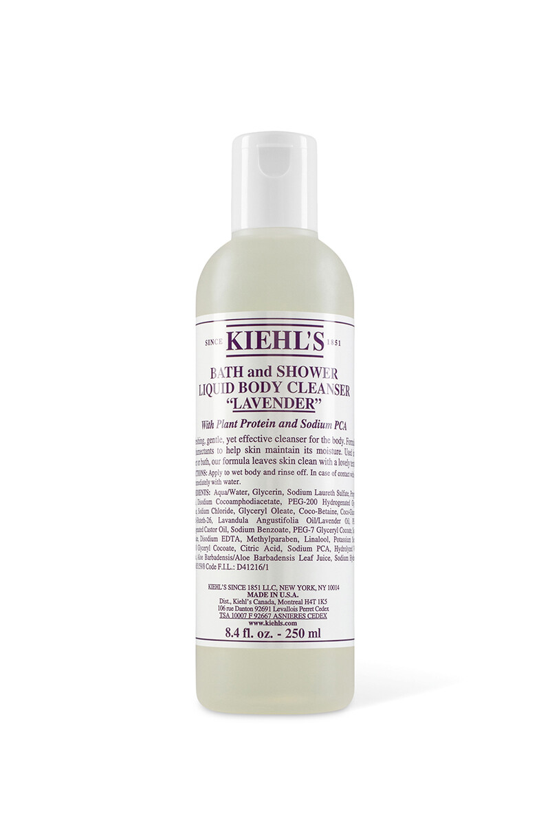 Lavender Scented Bath And Shower Liquid Body Cleanser image number 1