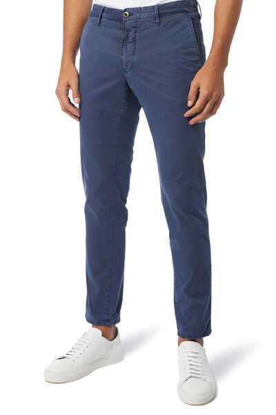 Vintage Treatment Cotton Pants