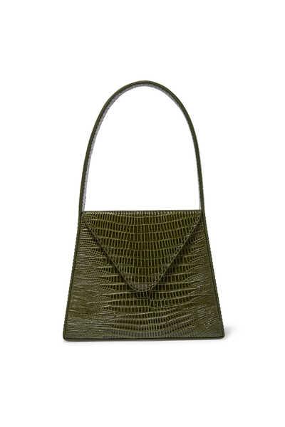 Liza Reptile Print Small Bag