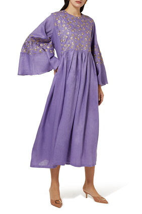 Lilly Embroidered Kaftan