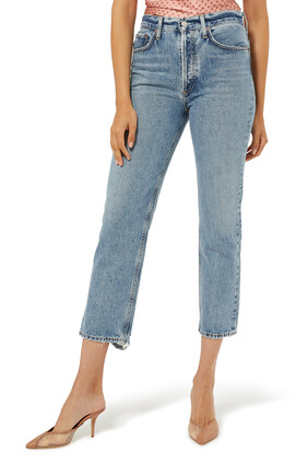 Lana Crop Mid-Rise Jeans